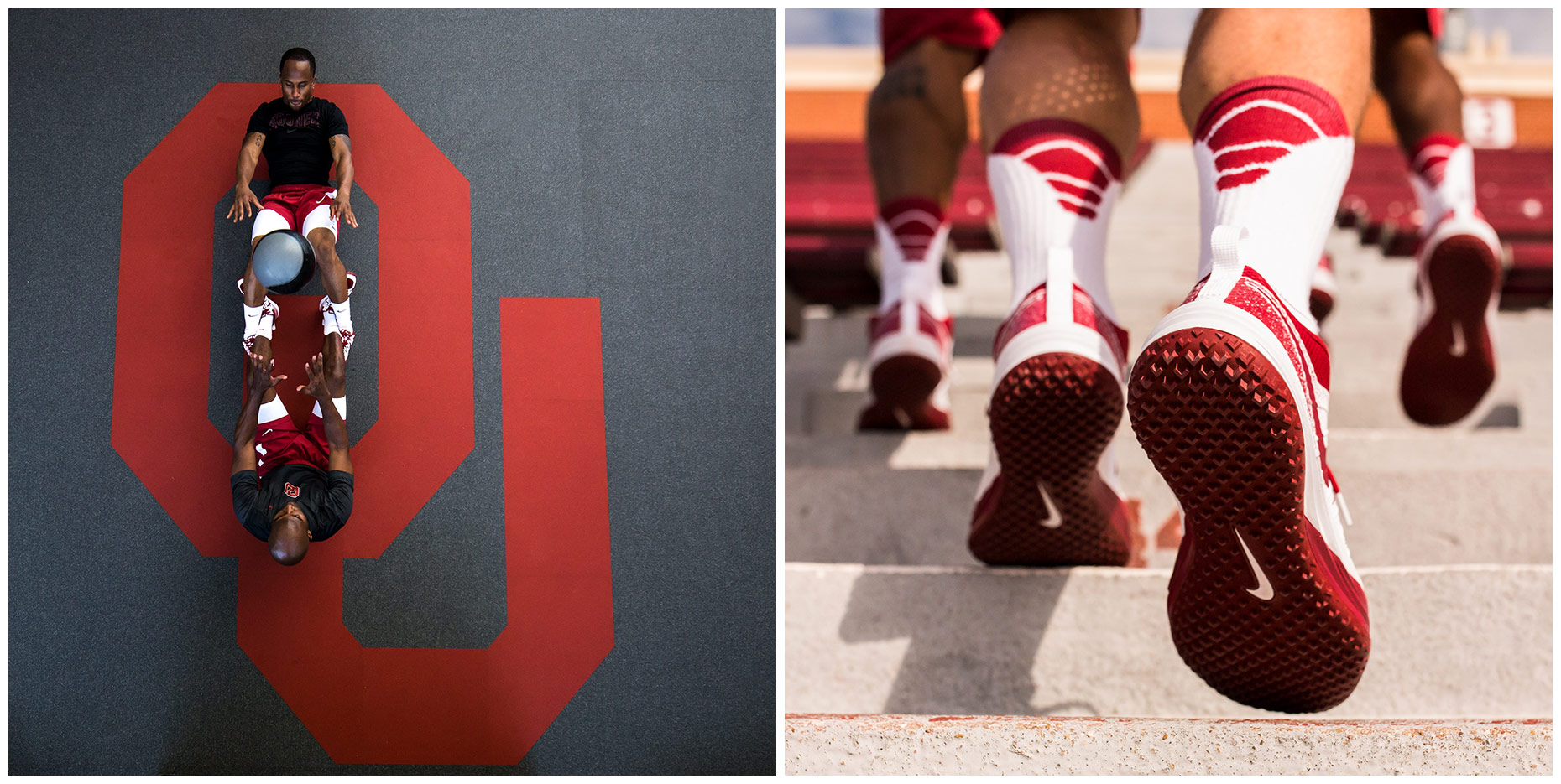 Oklahoma Sooners | Project for Nike Digital