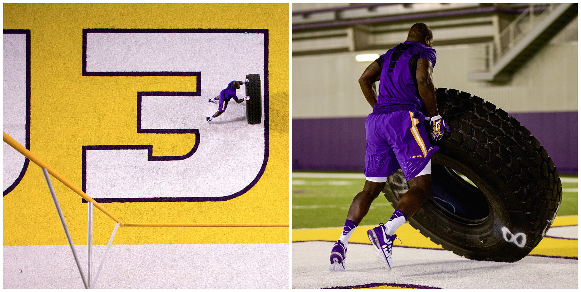 LSU Tigers | Project for Nike Digital