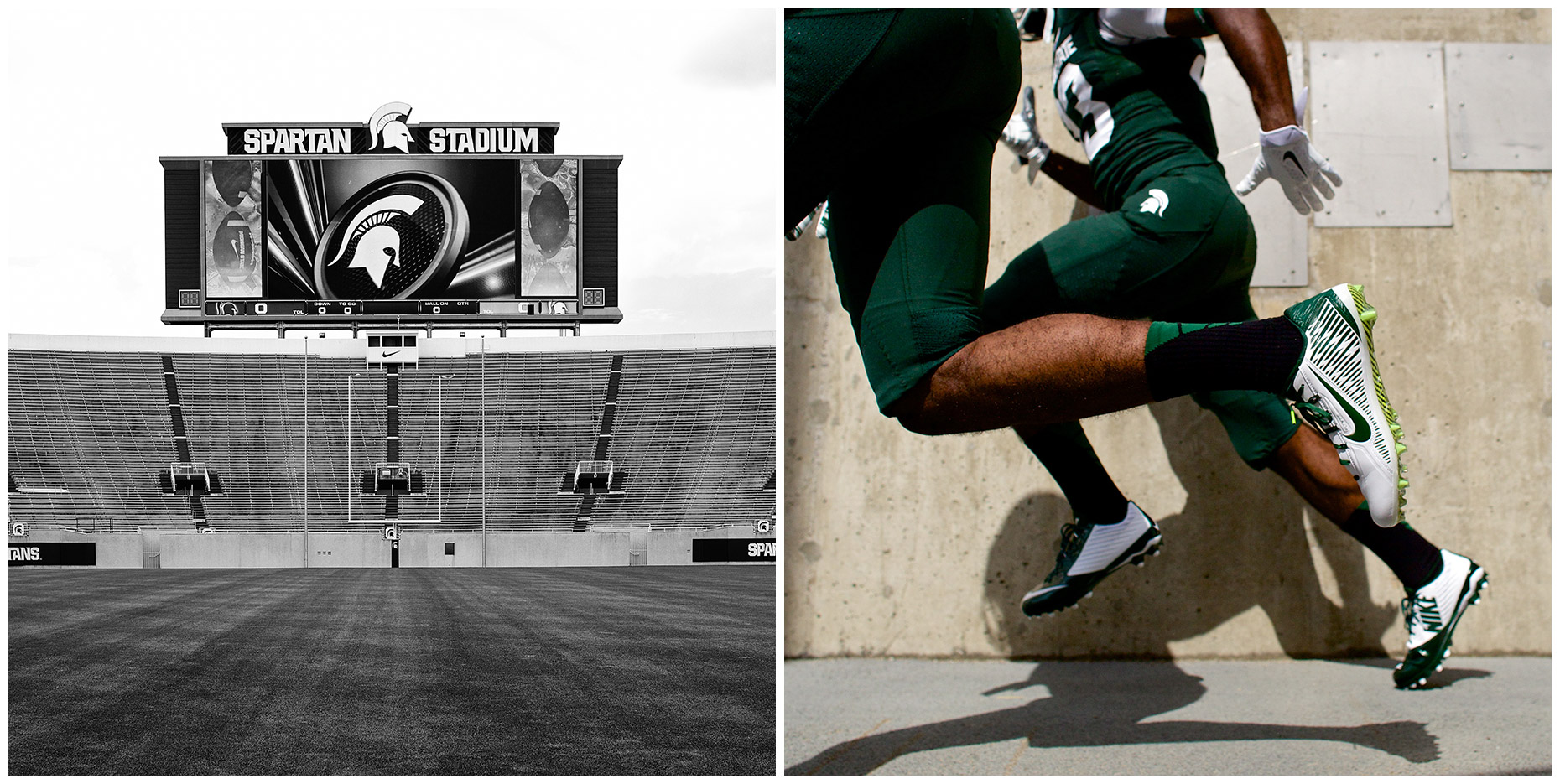 Michigan State Spartans | Project for Nike Digital