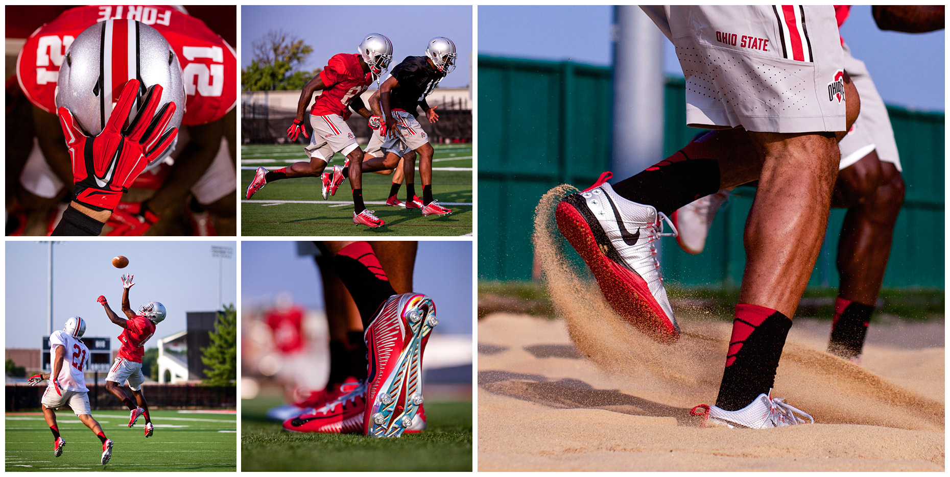 Ohio State Buckeyes | Project for Nike Digital