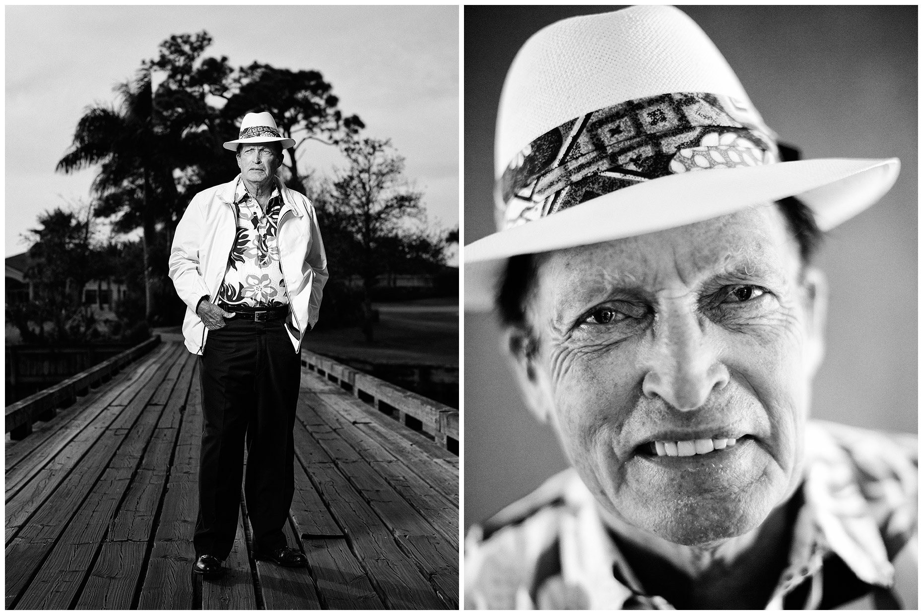 Chi-Chi Rodriguez, photographed for Golf World magazine.