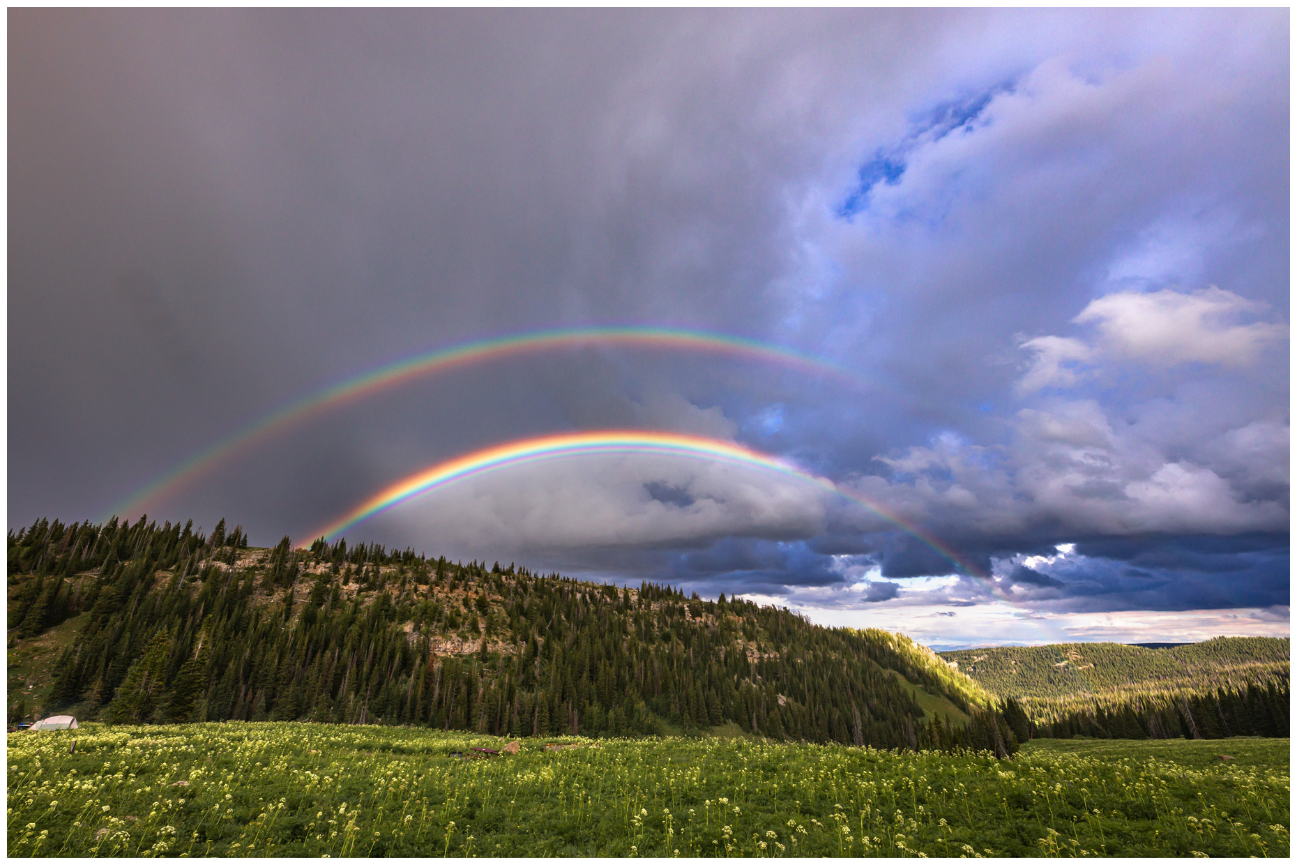 Rainbow in the Colorado High Country