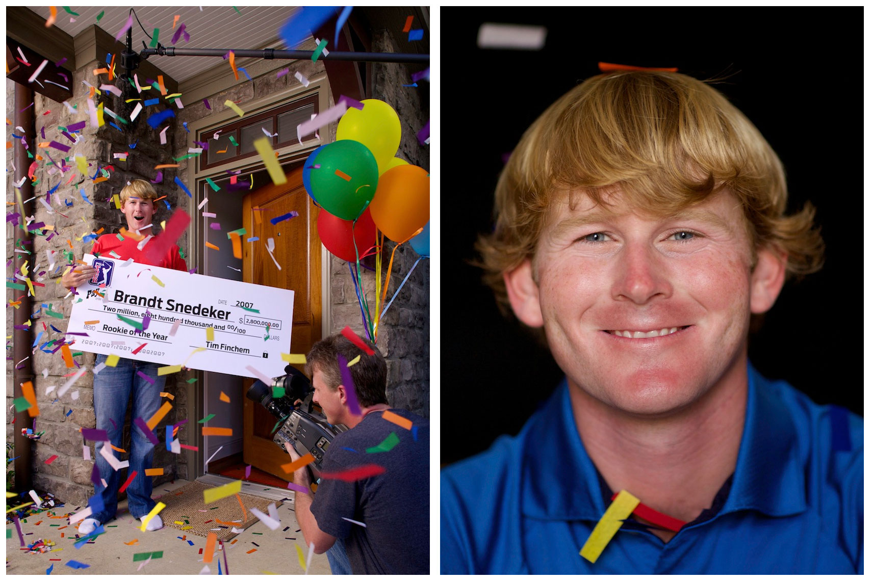 Brandt Snedeker Location Portrait for Golf Digest Rookie of the Year