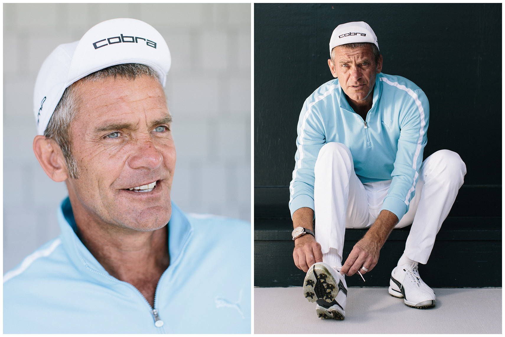 Jesper Parnevik, photographed at the Medalist Club in Hobe Sound, Florida for Svensk Golf magazine.