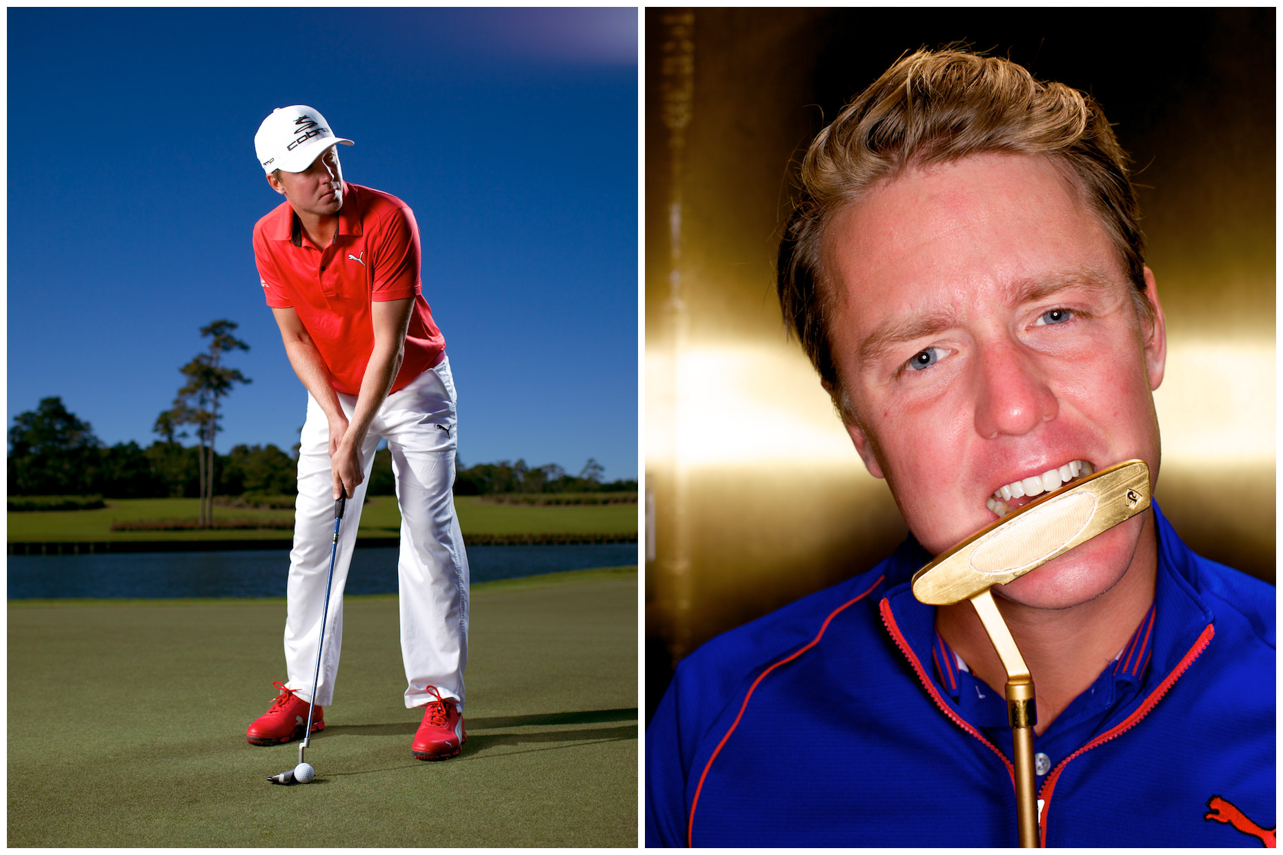 Jonas Blixt, photographed at the TPC Sawgrass in Ponte Vedra, Florida for Svensk Golf.