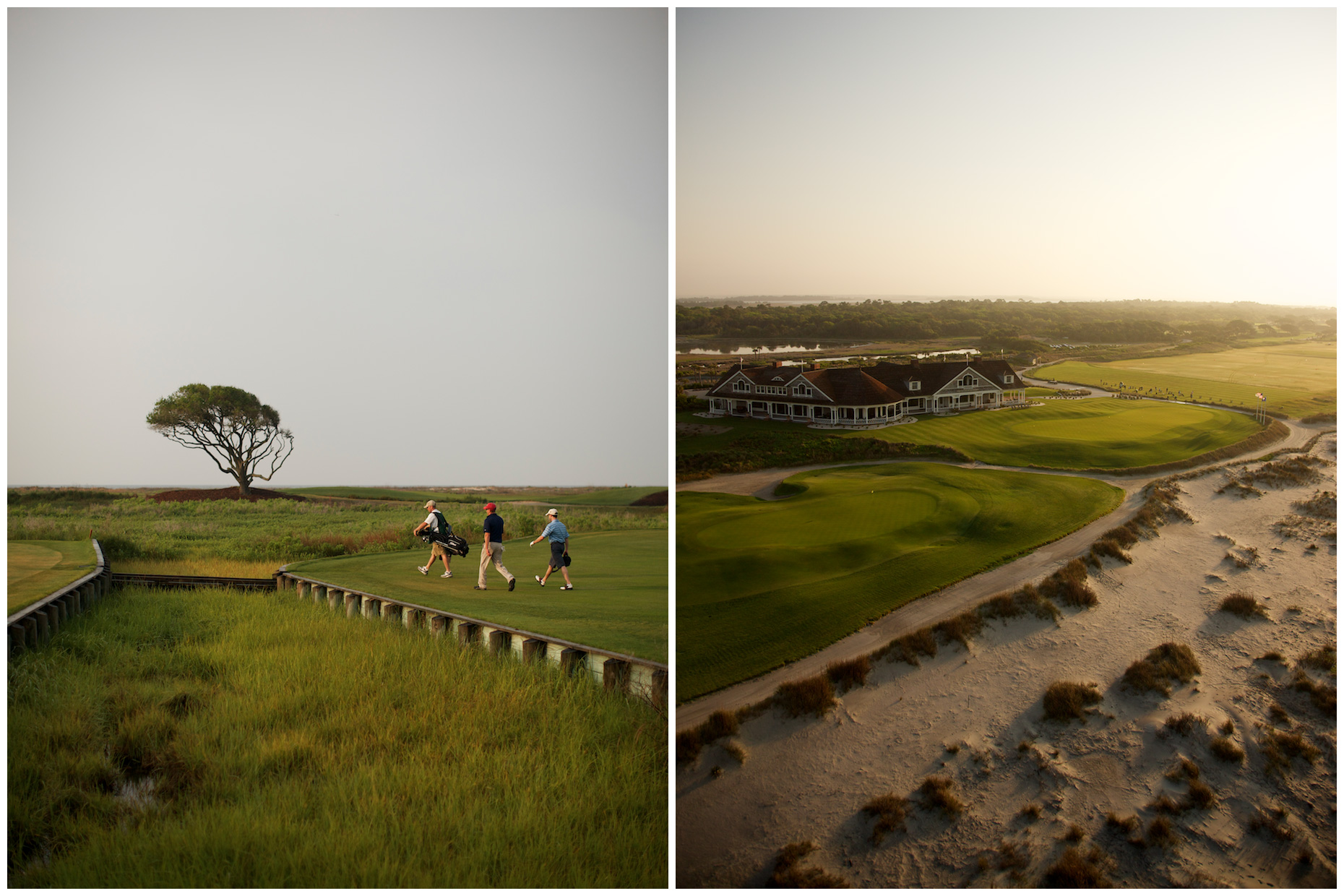 The Ocean Course on Kiawah Island in South Carolina. Photographed for Golf Digest.