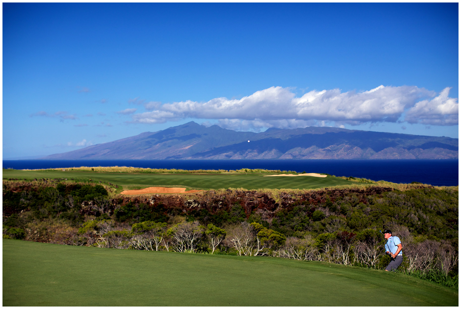 Mercedes-Benz Dealer Sectional play at the Plantation Course in Kapalua.