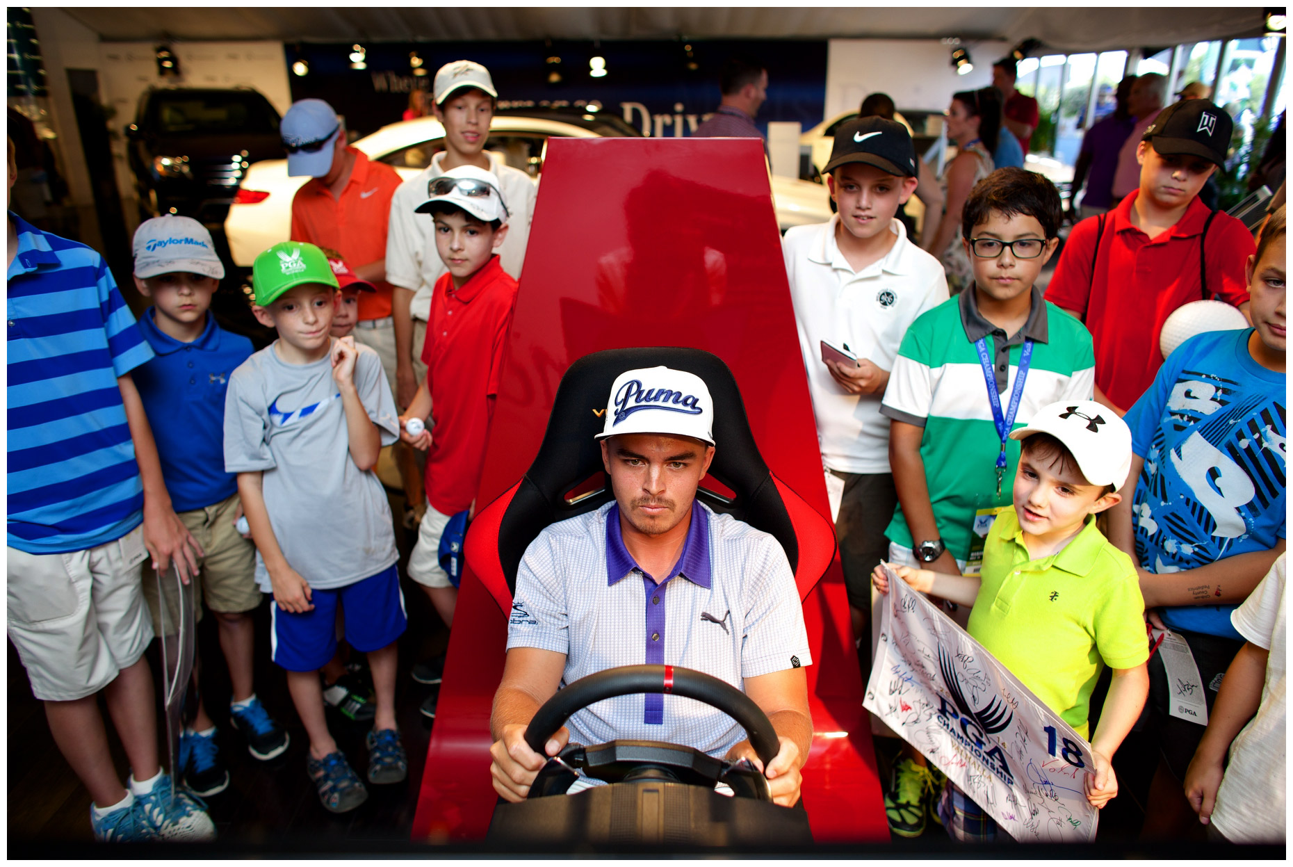 Rickie Fowler for MBUSA