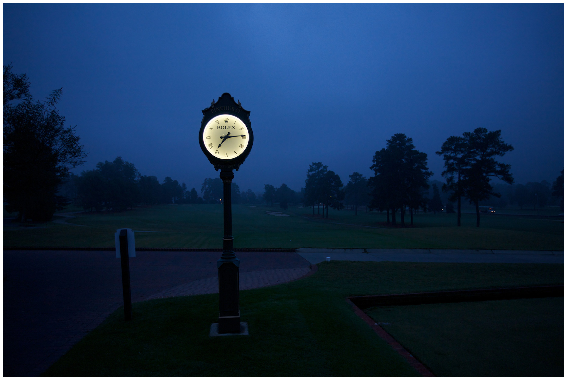 Pinehurst Resort, photographed for Mercedes-Benz USA.