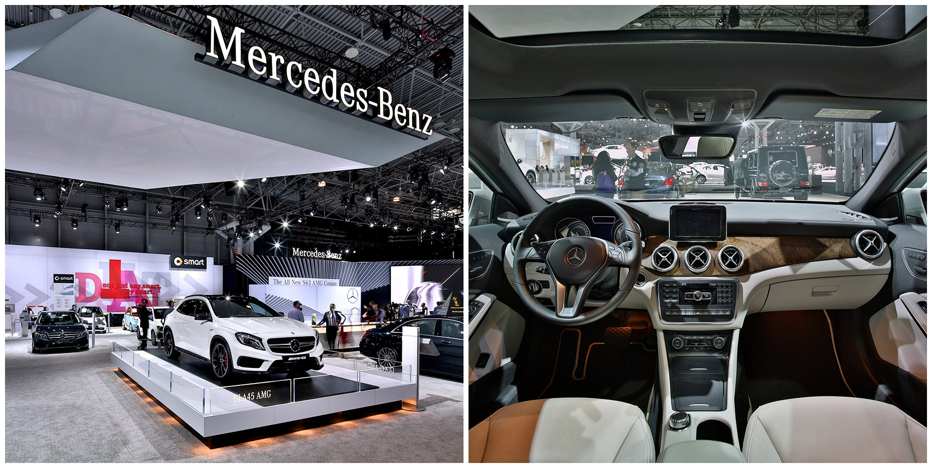 2014 NY International Auto Show for MBUSA digital.