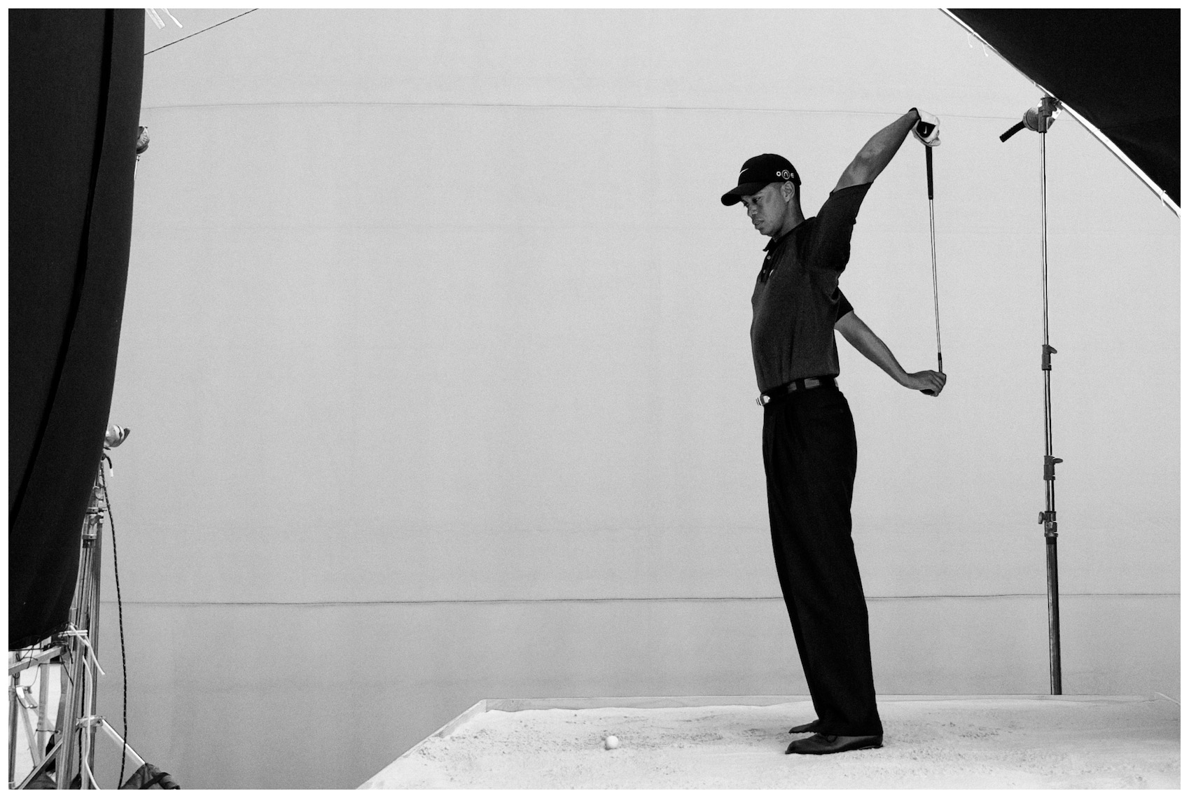 Tiger Woods Location Portrait for EA Sports