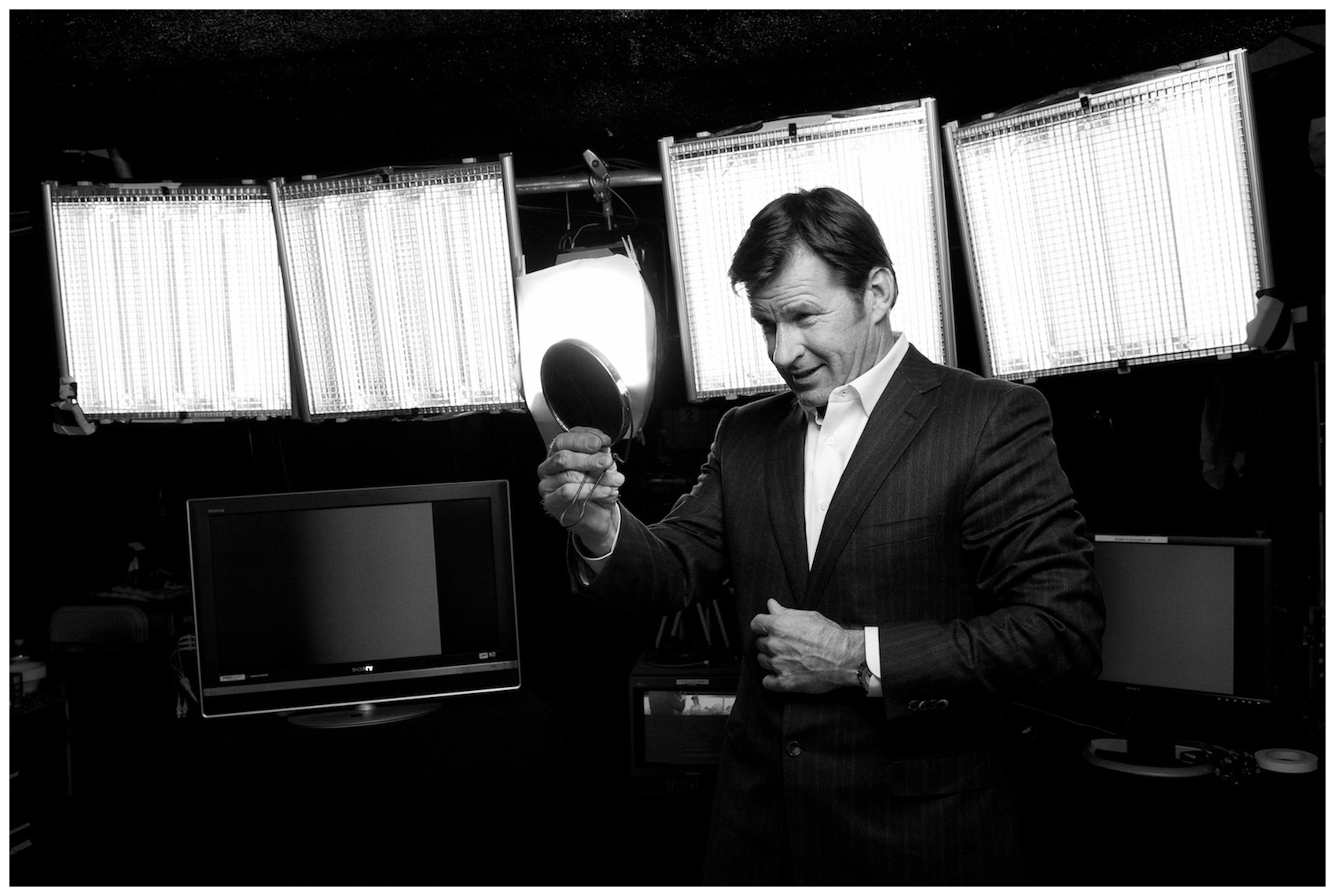 Sir Nick Faldo - Photographed in Orlando, FL for Stern Magazine