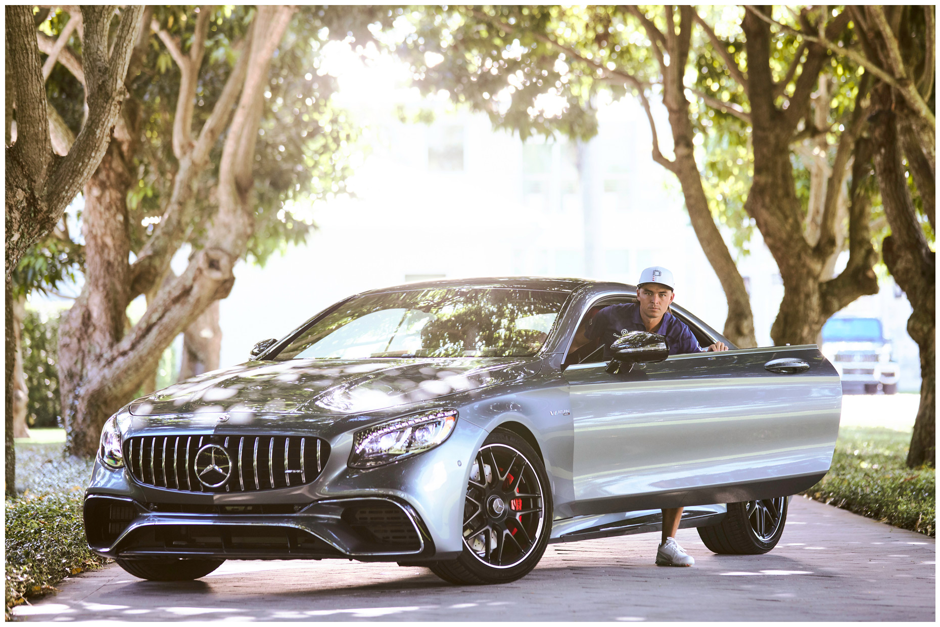 Rickie Fowler for Mercedes-Benz
