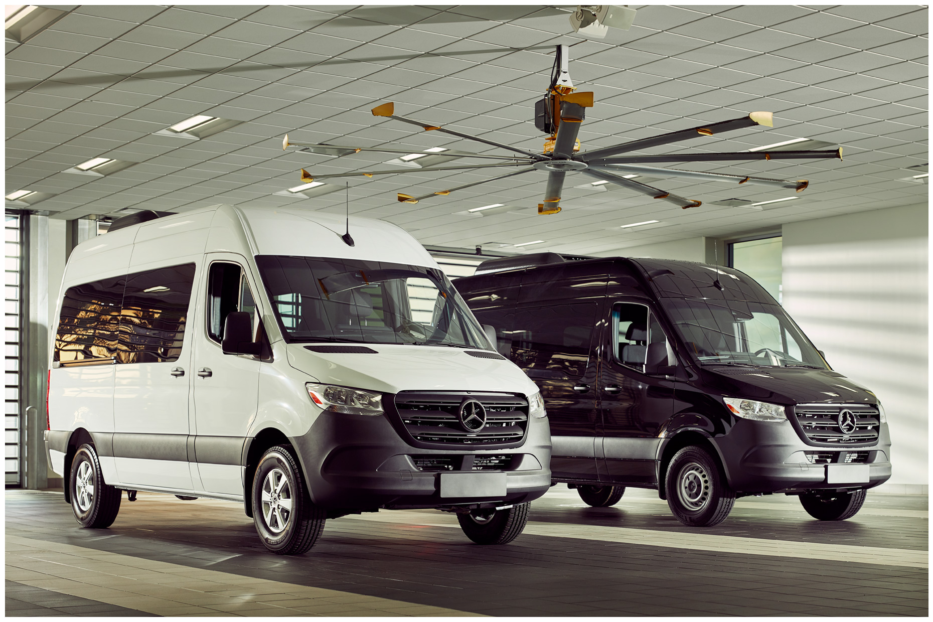 Custom Image Library for Mercedes-Benz Sprinter Vans