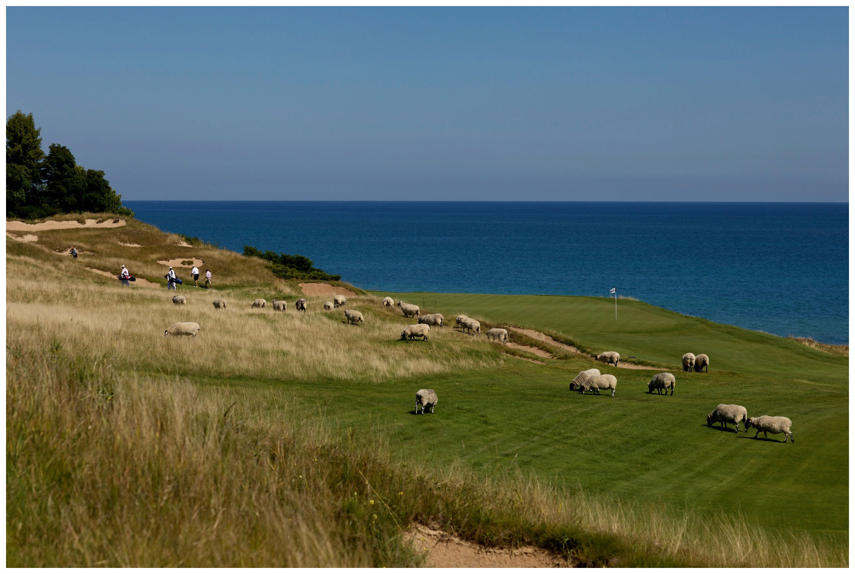 Whistling Straits in Kohler, Wisconsin