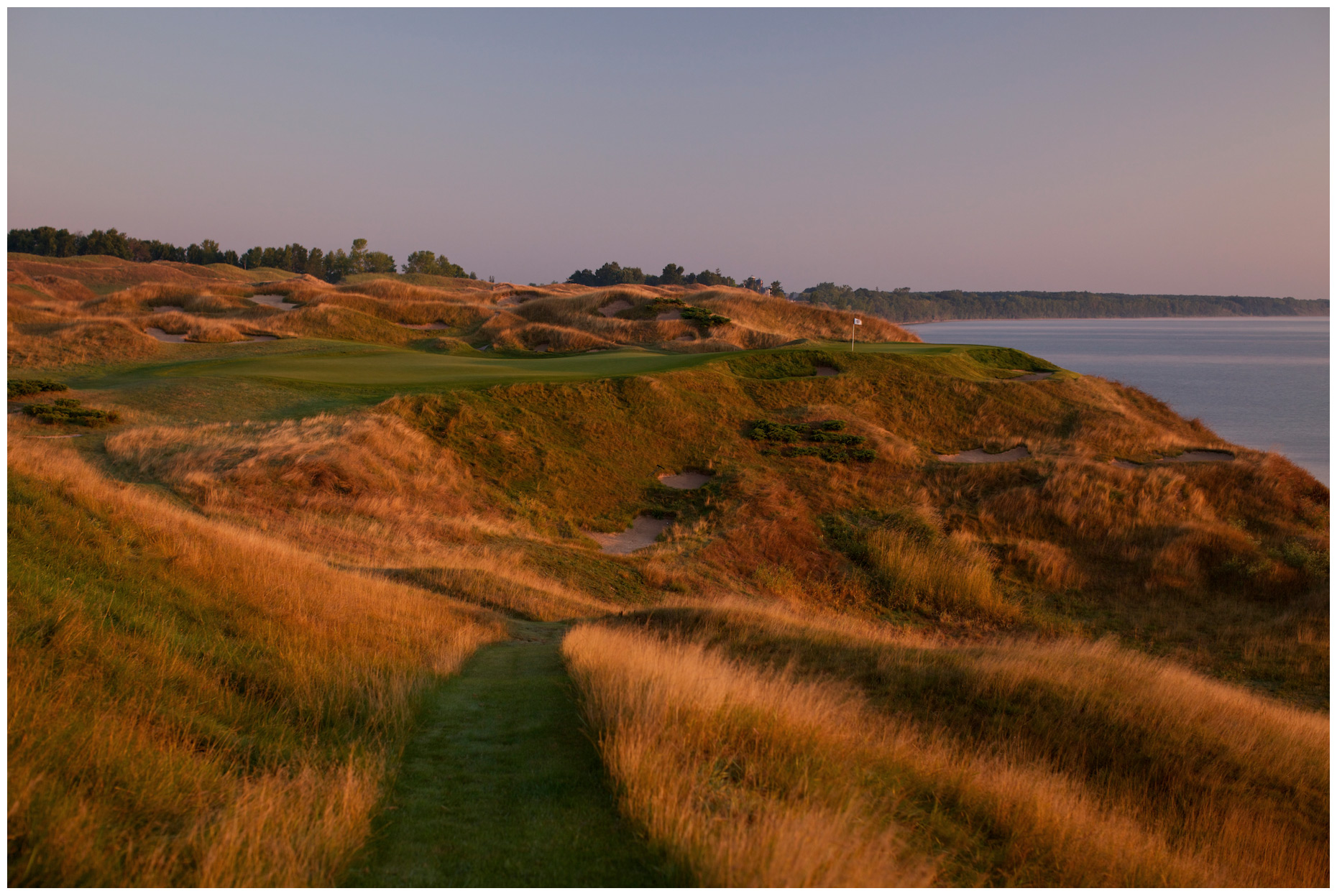 Whistling Straits near Kohler, Wisconsin. Photographed for Golf Digest.